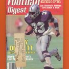 Football Digest January 1985 with Tony Dorsett of the Dallas Cowboys on the Cover