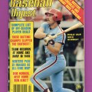 Baseball Digest April 1981 with Mike Schmidt of the Philadelphia Phillies on the Cover
