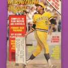 Baseball Digest April 1980 with Willie Stargell of the Pittsburgh Pirates on the Cover