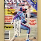 Baseball Digest December 1981 with Tim Raines of the Montreal Expos on the Cover
