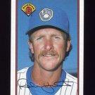 1989 Bowman Baseball #144 Robin Yount - Milwaukee Brewers