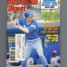 Baseball Digest August 1982 with Dale Murphy of the Atlanta Braves on the Cover