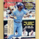 Baseball Digest September 1983 with Chris Chambliss of the Atlanta Braves on the Cover