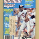 Baseball Digest April 1984 with Mike Boddicker of the Baltimore Orioles on the Cover
