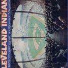 1978 Cleveland Indians Official Program and Souvenir Magazine with AUTOGRAPHS
