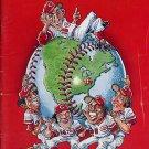 1976 World Champion Cincinnati Reds Baseball Yearbook Magazine