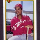 1990 Bowman Baseball #050 Barry Larkin - Cincinnati Reds