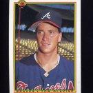 1990 Bowman Baseball #002 Tom Glavine - Atlanta Braves