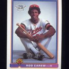 1991 Bowman Baseball #002 Rod Carew II - Minnesota Twins