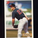 1993 Bowman Baseball #609 Troy Percival - California Angels ExMt