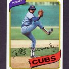 1980 Topps Baseball #472 Willie Hernandez - Chicago Cubs