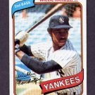 1980 Topps Baseball #460 Willie Randolph - New York Yankees NM-M