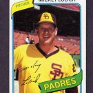 1980 Topps Baseball #459 Mickey Lolich - San Diego Padres Ex