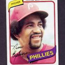 1980 Topps Baseball #447 Nino Espinosa - Philadelphia Phillies