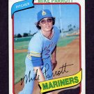 1980 Topps Baseball #443 Mike Parrott - Seattle Mariners