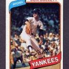 1980 Topps Baseball #435 Don Gullett - New York Yankees