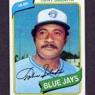 1980 Topps Baseball #407 Tony Solaita - Toronto Blue Jays