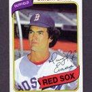 1980 Topps Baseball #405 Dwight Evans - Boston Red Sox