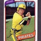 1980 Topps Baseball #383 Ed Ott - Pittsburgh Pirates