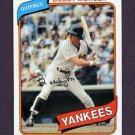 1980 Topps Baseball #365 Bobby Murcer - New York Yankees VgEx