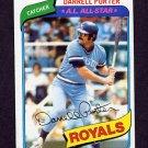 1980 Topps Baseball #360 Darrell Porter - Kansas City Royals ExMt
