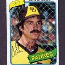 1980 Topps Baseball #352 Dan Briggs - San Diego Padres