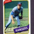 1980 Topps Baseball #336 George Medich - Texas Rangers