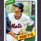 1980 Topps Baseball #331 Rich Hebner - New York Mets
