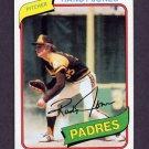 1980 Topps Baseball #305 Randy Jones - San Diego Padres ExMt