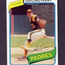 1980 Topps Baseball #280 Gaylord Perry - San Diego Padres Ex