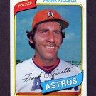 1980 Topps Baseball #247 Frank Riccelli - Houston Astros
