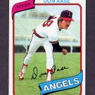1980 Topps Baseball #239 Don Aase - California Angels NM-M