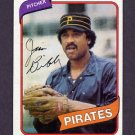1980 Topps Baseball #229 Jim Bibby - Pittsburgh Pirates Ex