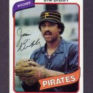1980 Topps Baseball #229 Jim Bibby - Pittsburgh Pirates NM-M