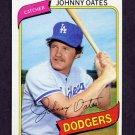 1980 Topps Baseball #228 Johnny Oates - Los Angeles Dodgers