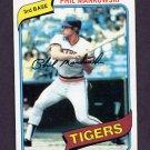 1980 Topps Baseball #216 Phil Mankowski - Detroit Tigers