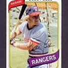 1980 Topps Baseball #190 Buddy Bell - Texas Rangers NM-M