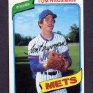1980 Topps Baseball #151 Tom Hausman - New York Mets ExMt