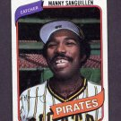 1980 Topps Baseball #148 Manny Sanguillen - Pittsburgh Pirates ExMt