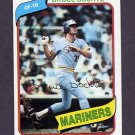 1980 Topps Baseball #143 Bruce Bochte - Seattle Mariners