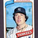1980 Topps Baseball #140 Rich Gossage - New York Yankees Vg