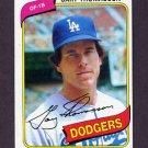 1980 Topps Baseball #127 Gary Thomasson - Los Angeles Dodgers