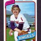 1980 Topps Baseball #105 Frank Tanana - California Angels NM-M