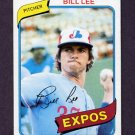 1980 Topps Baseball #097 Bill Lee - Montreal Expos ExMt