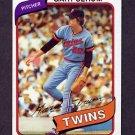 1980 Topps Baseball #061 Gary Serum - Minnesota Twins