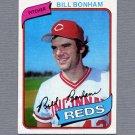 1980 Topps Baseball #047 Bill Bonham - Cincinnati Reds