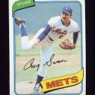 1980 Topps Baseball #008 Craig Swan - New York Mets