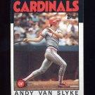 1986 Topps Baseball #683 Andy Van Slyke - St. Louis Cardinals