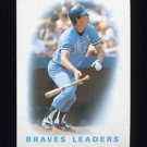 1986 Topps Baseball #456 Dale Murphy / Atlanta Braves Leaders