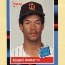 1988 Donruss Baseball #034 Roberto Alomar RC - San Diego Padres NM-M